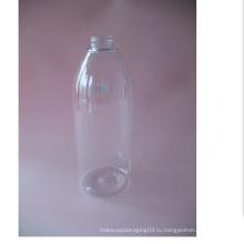 500ml Бостонская прозрачная бутылка без лосьонного насоса