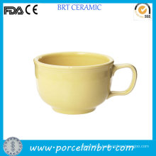Simple Handled Big Capacity Soup Cup