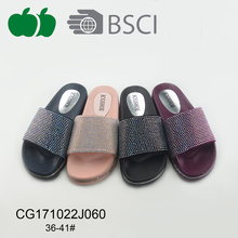 Sexy Women New Design Summer Plastic Slippers