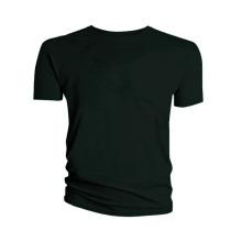Wholesale High Quality Bulk Black 100% Cotton Men T Shirt