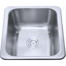 14 inch 18/8 304 Stainless Steel Topmount Kitchen sinks for Bar