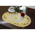 30cm Round PVC Lace Gold Doily Fabrik Günstige Großhandel
