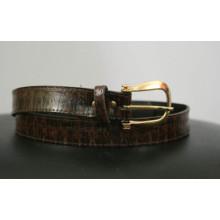 Lady crocodile Skin Belt