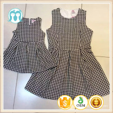 Children Clothes Patterned Dresses For Mommy&Kids