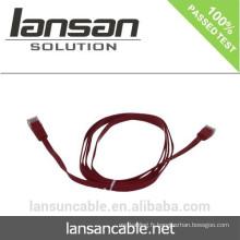 Câble flexible CAT6 avec connecteur RJ45 Couleurs optionnelles