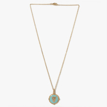 Elegant fashion anchor gold plated pendant necklace designs for women