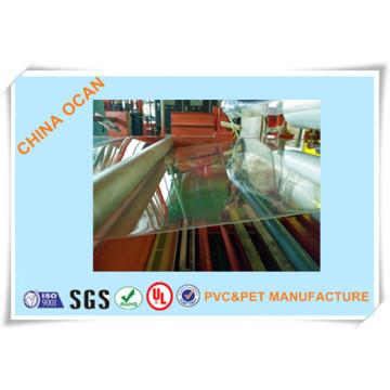 Folha clara rígida do PVC do plástico para imprimir e Thermoforming