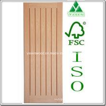 Panel vertical interior Puerta de roble de madera Hotsale