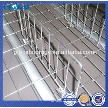 Storage Pallet Rack wire decking dividers for industrial warehouse