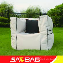 High quality outdoor bean bag sofa with armrest