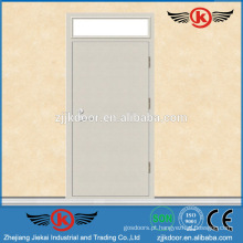 JK-F9045 Porta de fogo de aço Porta de proteção contra incêndio de metal usado