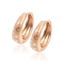 Boucle d'oreille de Huggies de vente chaude de mode de bijoux de 29323-Xuping avec l'or 18k plaqué