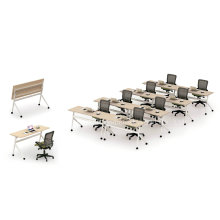 Modern Foldable Student Training Table, Folding Meeting Table (HF-P02)