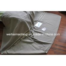 100 % reine neue Schurwolle Decke (NMQ-WB031)