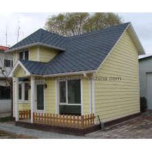 Édifice de petite maison pré-habillé peu coûteux abordable