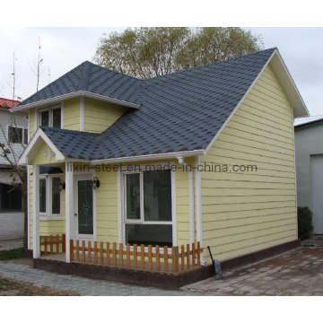 Affordable Small Prefaricated Steel Structure Edificio de la casa de Villa