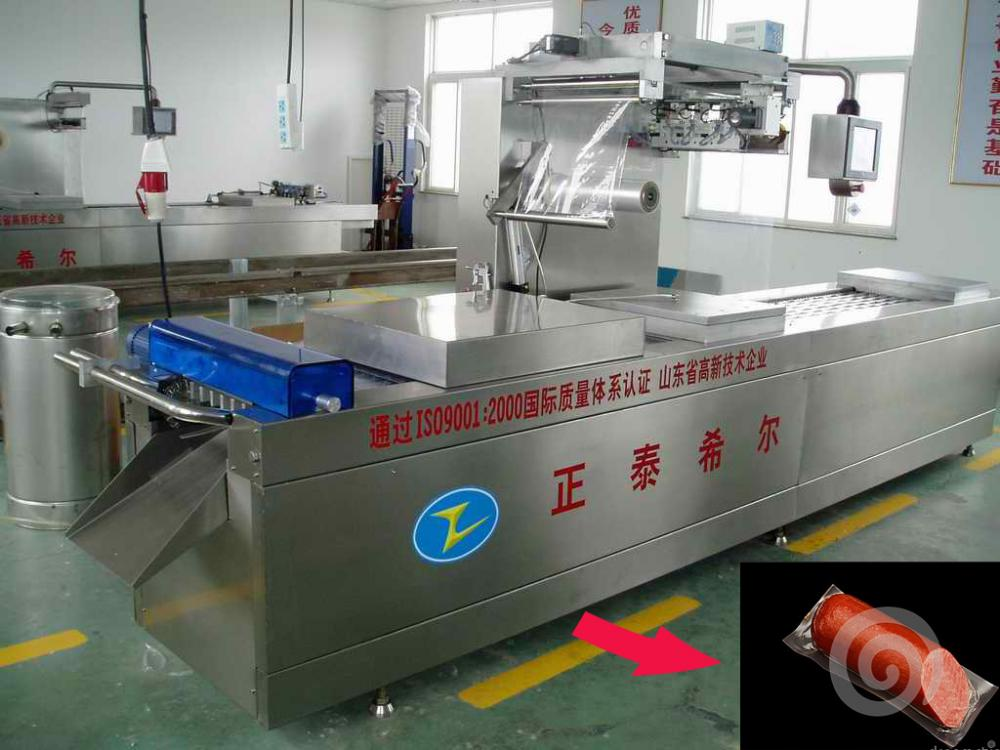 Frozen Corn Vacuum Packing Machine With Evacuation Device
