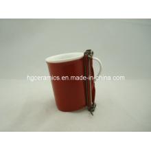 Abonnement à la tasse de sublimation, enveloppe de tasse de 10 oz Fine Bone China