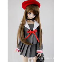 BJD Girl Red Beret Hat For SD Size