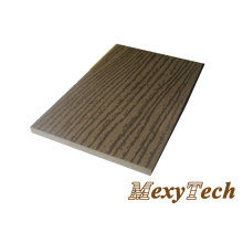 Plastic Wood Traditional Composite Decking with Wooden Texture