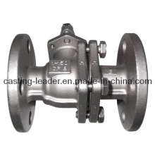 Investment Casting Pump Body with Ductile Iron