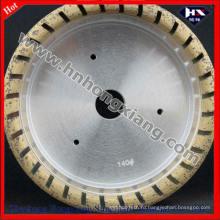 Алмазный шлифовальный круг с внутренним сегментированием