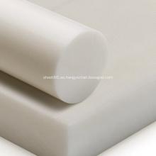 Hoja de POM de plástico acetal blanco negro