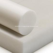 Feuille de POM en plastique acétal noir et blanc