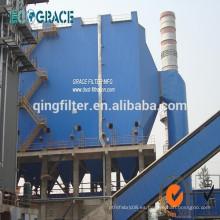 Trituradora de polvo de eliminación de bolsa de la máquina de filtro