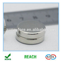 D20 nickle plated neodymium disc magnets