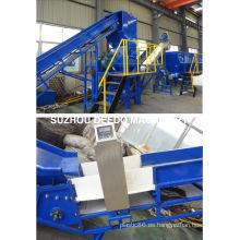 Línea de reciclaje de residuos plásticos Línea de producción de lavado de plásticos PE