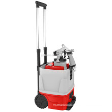 1200w Double Tube Trolley HVLP Floor Based Power Painting Sprayer Metal Gun Electric Painting Machine GW8179P