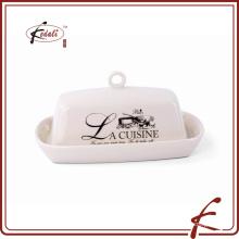 Plato vendedor caliente de la calabaza de la forma del cuadrado de la etiqueta