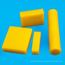 Folha de chapa de plástico PEAD amarelo polietileno