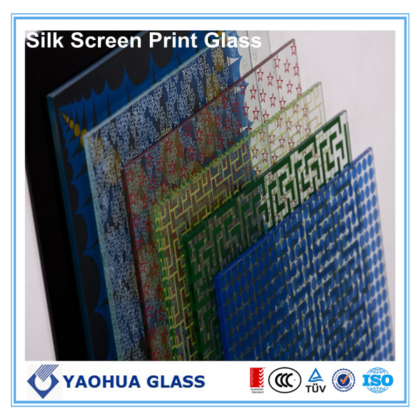 silkscreen printed glass/ceramic frited glass