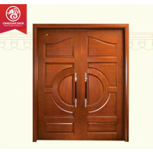 Solid Wood Exterior Doors/Villa Double Door/Contemporary Front Doors                                                                         Quality Choice