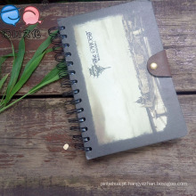 2016 Hot Selling Button Spiral Notebook A5 Tamanho (XL-32K-YP-02)
