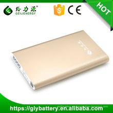 GLE-P9 Comercio al por mayor 8000mah DC 5V Li-polímero recargable cargador de batería