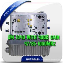 Booster CATV / amplificateur RF / Hfc Booster avec Agc