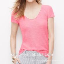 16STC5104 Frühling Sommer reines Cashmere-Shirt