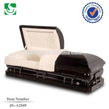 JS - A345 vender directamente a partir do caixão de madeira clássico feito em China