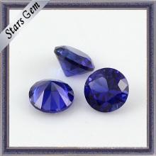 Zafiro de forma redonda 34 # Piedra preciosa