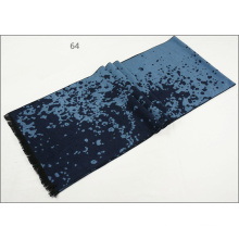 Men′s Womens Unisex Reversible Cashmere Feel Winter Warm Checked Diamond Printing Thick Knitted Woven Scarf (SP820)