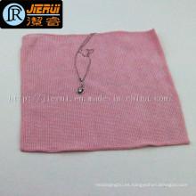 Toalla de tela de microfibra para el collar