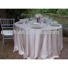 Toalha de mesa, tampa de tabela simples de tafetá, toalhas de mesa