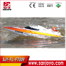 dragon rc boat High speed racing boat FT009 hobby model 4CH yacht 30km/h 2.4g rc speed boats for sale (water cooling system)