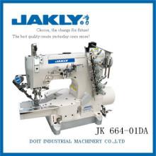 JK664-01DA fino con buena calidad Máquina de coser industrial de enclavamiento de alta velocidad