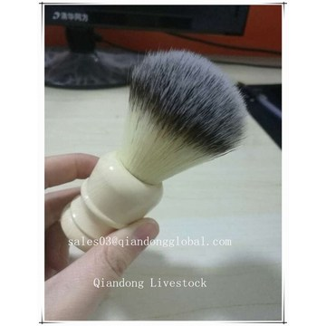 Pele sintética Knot Resine Handle Shaving Brush