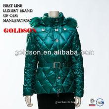 2017 la plus nouvelle veste de mode féminine chinoise pour l'hiver