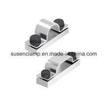 Collier en acier, simple, jumelé, triple, serre-câbles Quad